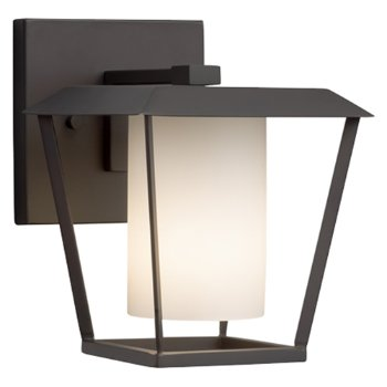 Shown in Matte Black finish with Opal Shade