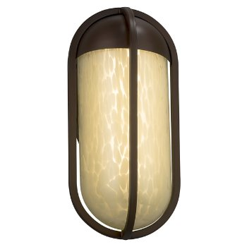 Shown in Brushed Nickel finish with Mercury Shade, Small size
