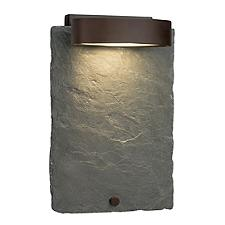 Slate Litho Outdoor Wall Sconce