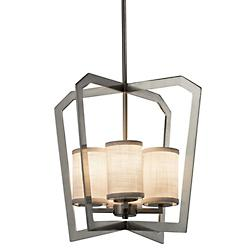 Textile Aria 4 Light Chandelier