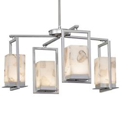 Alabaster Rocks! Laguna LED Outdoor Chandelier