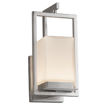 Shown in Brushed Nickel finish, Opal
