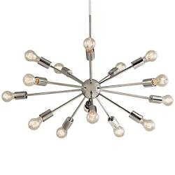 Axion 15-Light Chandelier