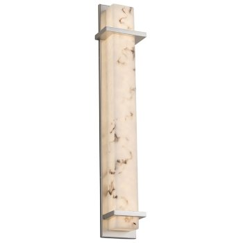 Shown in Brushed Nickel finish, 48-Inch