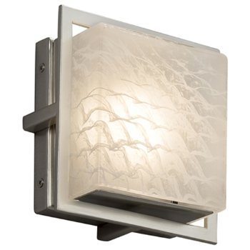 Shown in Wave, Brushed Nickel finish