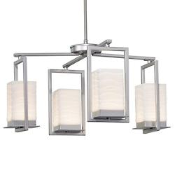 Porcelina Laguna LED Outdoor Chandelier