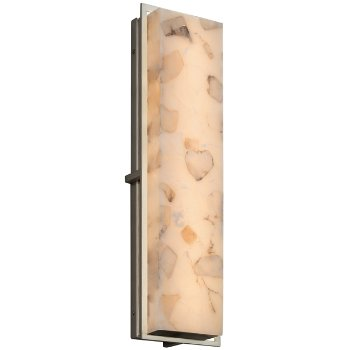 Alabaster Rocks! Avalon Outdoor/Indoor LED Wall Sconce