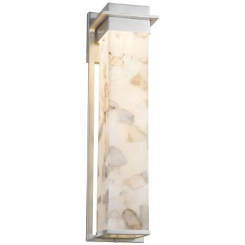 Shown in Brushed Nickel finish, 24 inch size