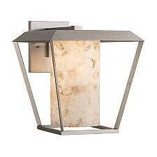 Alabaster Rocks Patina Outdoor Wall Sconce