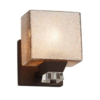 Shown in Dark Bronze finish, Rectangle