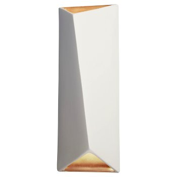 Shown in Matte White with Champagne Gold Internal finish
