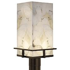 Alabaster Rocks! Avalon LED Outdoor Post Light