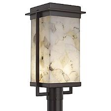 Alabaster Rocks! Pacific LED Outdoor Post Light