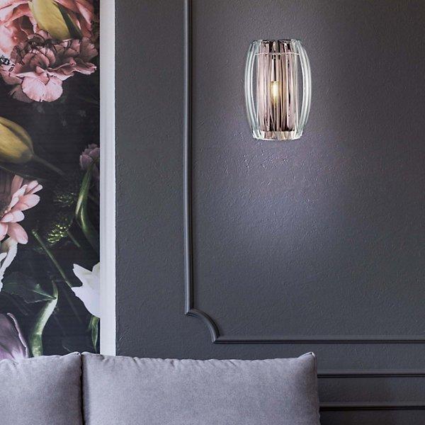 Bohemia Aplique ADA Small Crystal Wall Sconce