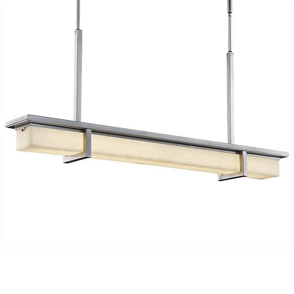 Clouds Monolith LED Outdoor Linear Suspension