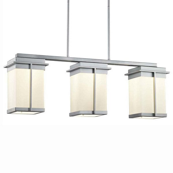 Fusion Pacific 3-Light LED Outdoor Linear Suspension