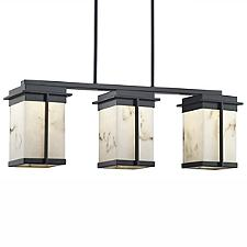LumenAria Pacific 3-Light LED Outdoor Linear Suspension