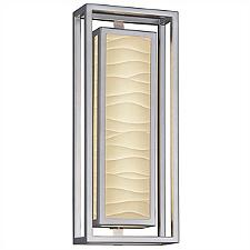 Porcelina Bayview 18-In. LED ADA Outdoor Wall Sconce