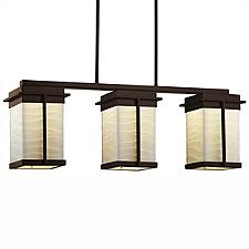 Porcelina Pacific 3-Light LED Outdoor Linear Suspension