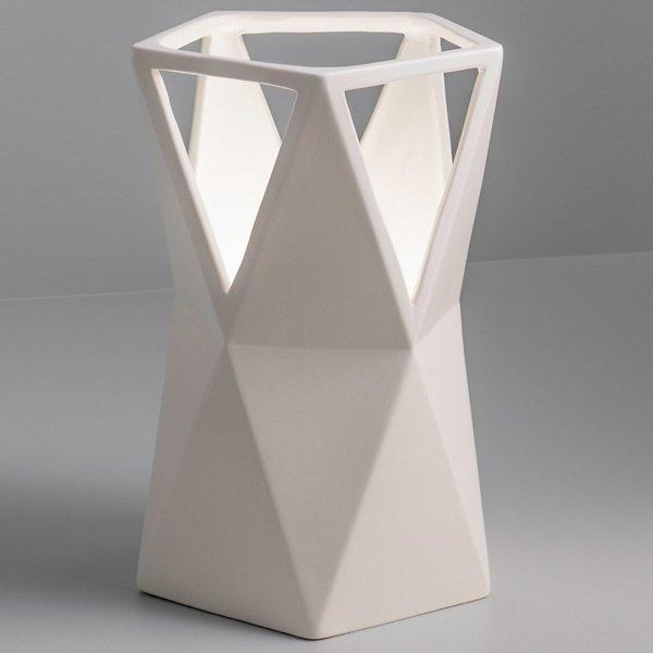 Totem Matte White Table Lamp