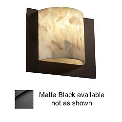 Framed Square Wall Sconce (Black/3 Sided) - OPEN BOX RETURN