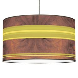 Stripey Horizontal Pendant