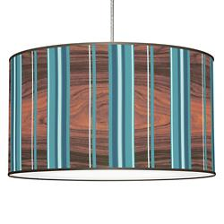 Stripey Vertical Pendant