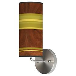 Stripey Horizontal Wall Sconce