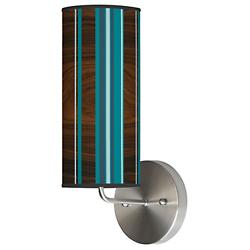 Stripey Vertical Wall Sconce