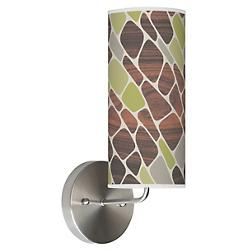 Cell Wall Sconce (Green) - OPEN BOX RETURN
