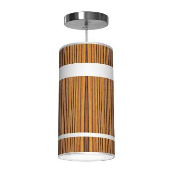 Shown in Zebrawood color