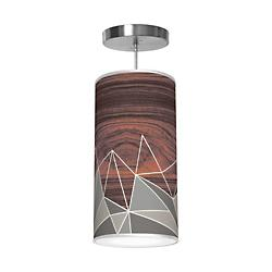 Facet Column Pendant