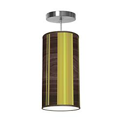Vertical Stripey Column Pendant