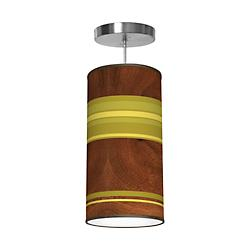 Horizontal Stripey Column Pendant