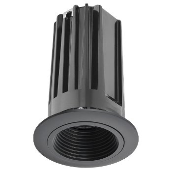 Shown in Black baffle with Black trim