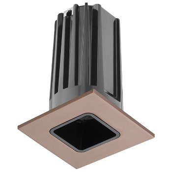 Shown in Black baffle with Bronze trim