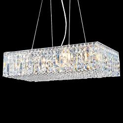 Contemporary Rectangular 40374 Linear Suspension