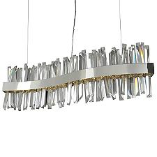 Glacier LED Wave Linear Chandelier Light