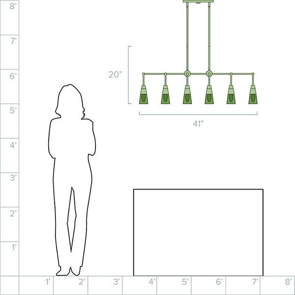 Ponti Linear Suspension