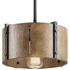 Elbur Pendant/Semi Flushmount Light