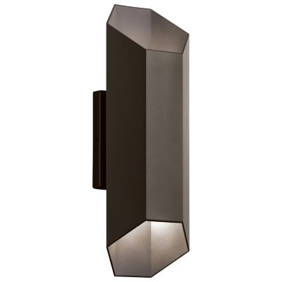 Estella Outdoor LED Up and Down Wall Sconce  sc 1 st  Lumens Lighting & Uplight Wall Sconces | Wall Uplights u0026 Uplight Sconces at Lumens.com azcodes.com