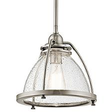 Silberne Pendant Light