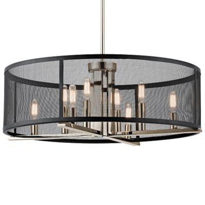 modern drum chandelier  chandeliers design, Lighting ideas