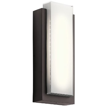 Dahlia Outdoor LED Wall Sconce