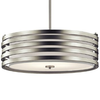 Roswell Large Drum Pendant