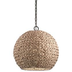 Palisades Outdoor Round Pendant
