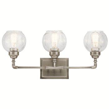 Niles 3 Light Bath Light, In use