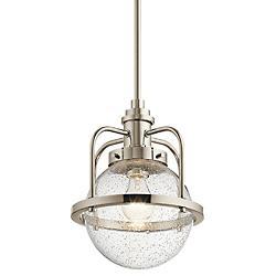 Triocent 1 Light Pendant/Semi Flush