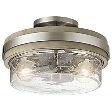 Grand Bank Semi Flushmount Light