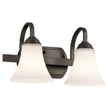 Shown in Olde Bronze finish with 2 Lights